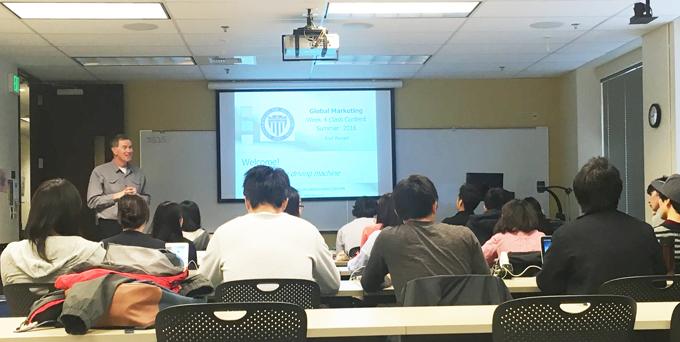 ワシントン大学授業風景