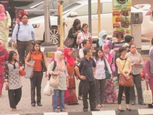 多種多様な人々が共存するマレーシア