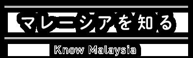 マレーシアを知る