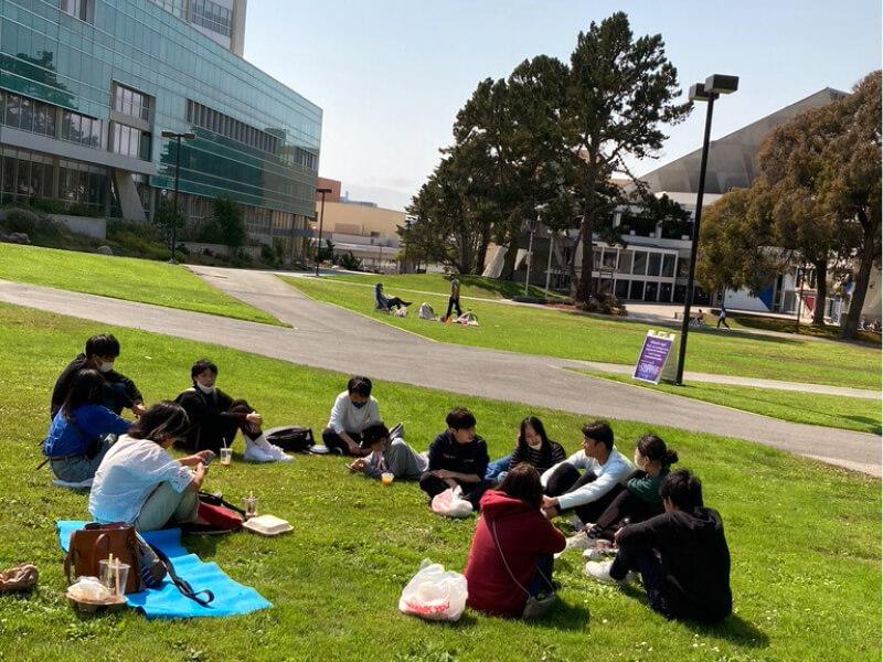 サンフランシスコ州立大学のキャンパス